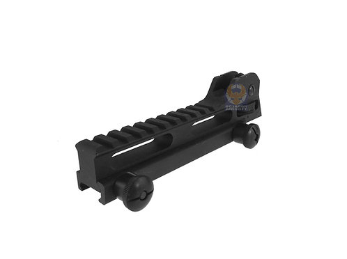 Classic Army A262M Rail Mount Base With Rear Sight Long For M4/M16