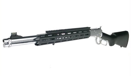 Marushin Tactical Winchester Raptor Zero Gas Shotgun Silver