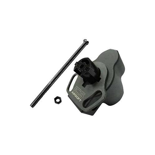 ICS MP-131 + MP-01 MP5 Tran M4 Stock Adapter Set
