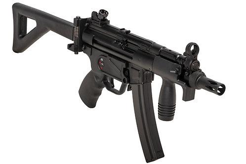SRC MP5K PDW CO2 SMG Rifle (Black, Steel Receiver) COB-424TM Inter. Version