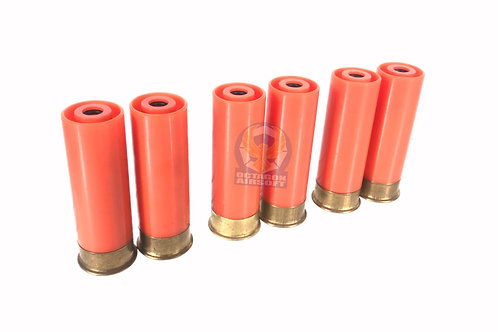 PPS Plastic (6pcs) Gas Shells For Tanaka / PPS Gas Shotguns / FCW Striker 12