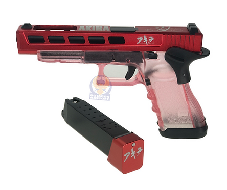 FCW Akira Style G34 GBBP with Pink Transparent Frame