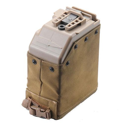 Lambda Defence 5000rds Magazine Drum For MK48 Mod 0/1 Machines Guns TAN