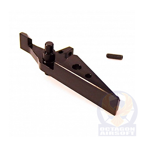 JeffTron Flat CNC trigger for M4 / M16 series AEG (Black)