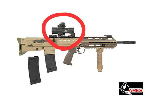 Ares  Scope + Red Dot Set For Any Of L85 Series with 20MM Rail System