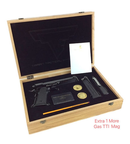 Flintlock Custom Workshop TTI Real Wood Case & Comb + ARMY Combat Master 5.4