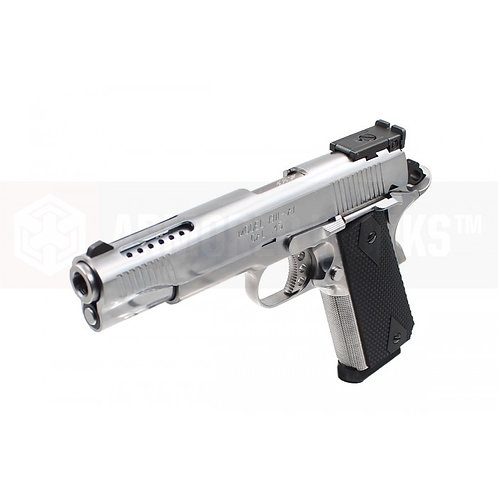 AW CUSTOM V12 Gas Blow Back Pistol NE1201 Silver