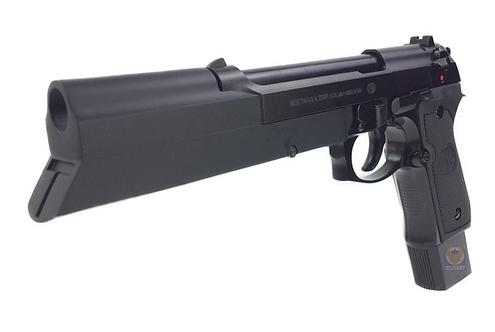 Flintlock Custom Workshop M9A1 Equilibrium GBB Pistol Black Custom