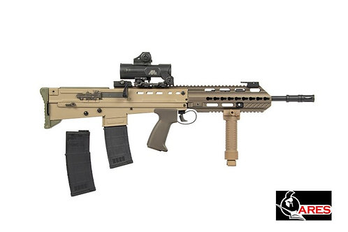 ARES L85A3 Deluxe Version AEG Rifle with Scope & Red Dot
