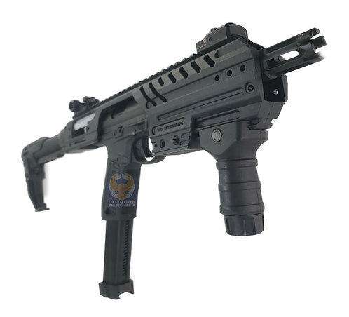 FCW MP7 Style Carbine Kit BK Version For AAP01 / Glock GBBP Without KV FOREGRIP