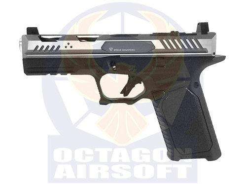 EMG x Strike Industry Licensed ARK G17 GBB Pistol (SV/GY 2 Tone Slide Version)