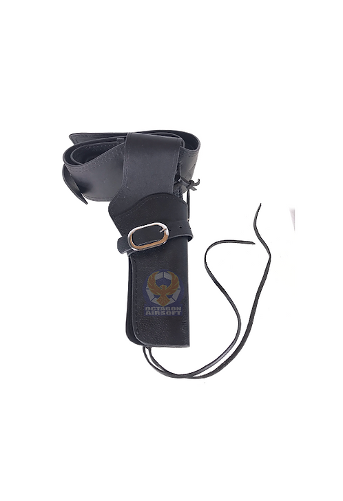 FCW Cowboy Leather Holster with Dummy Shells BK Type A