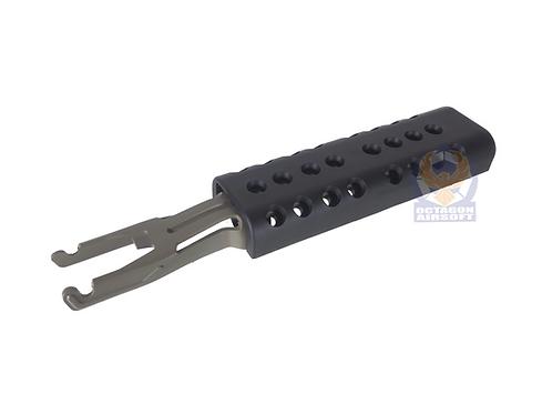 A&K M249 ABS Heat Cover DE/BK