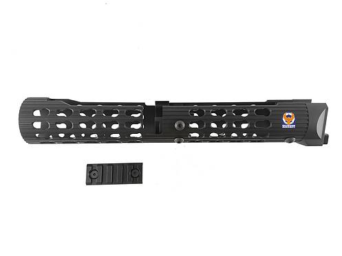 TWI VS-24 Keymod Alumium Handguard For AKM, AK74 (BK)