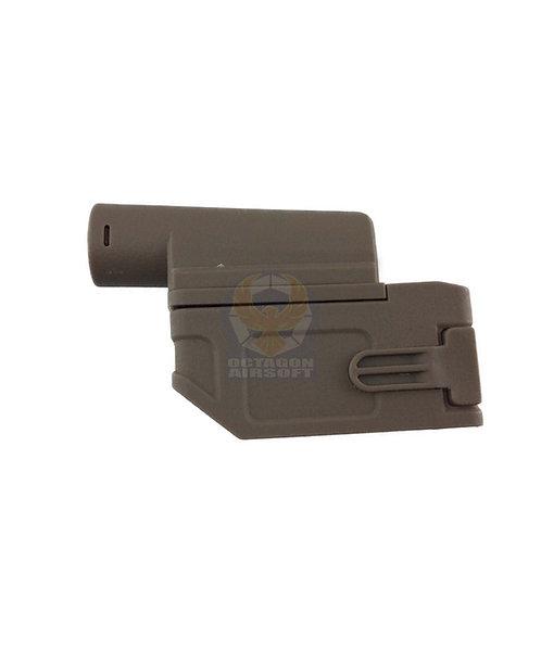 Flintlock Custom Workshop M870 Tran M4 Magazine Adapter Tan