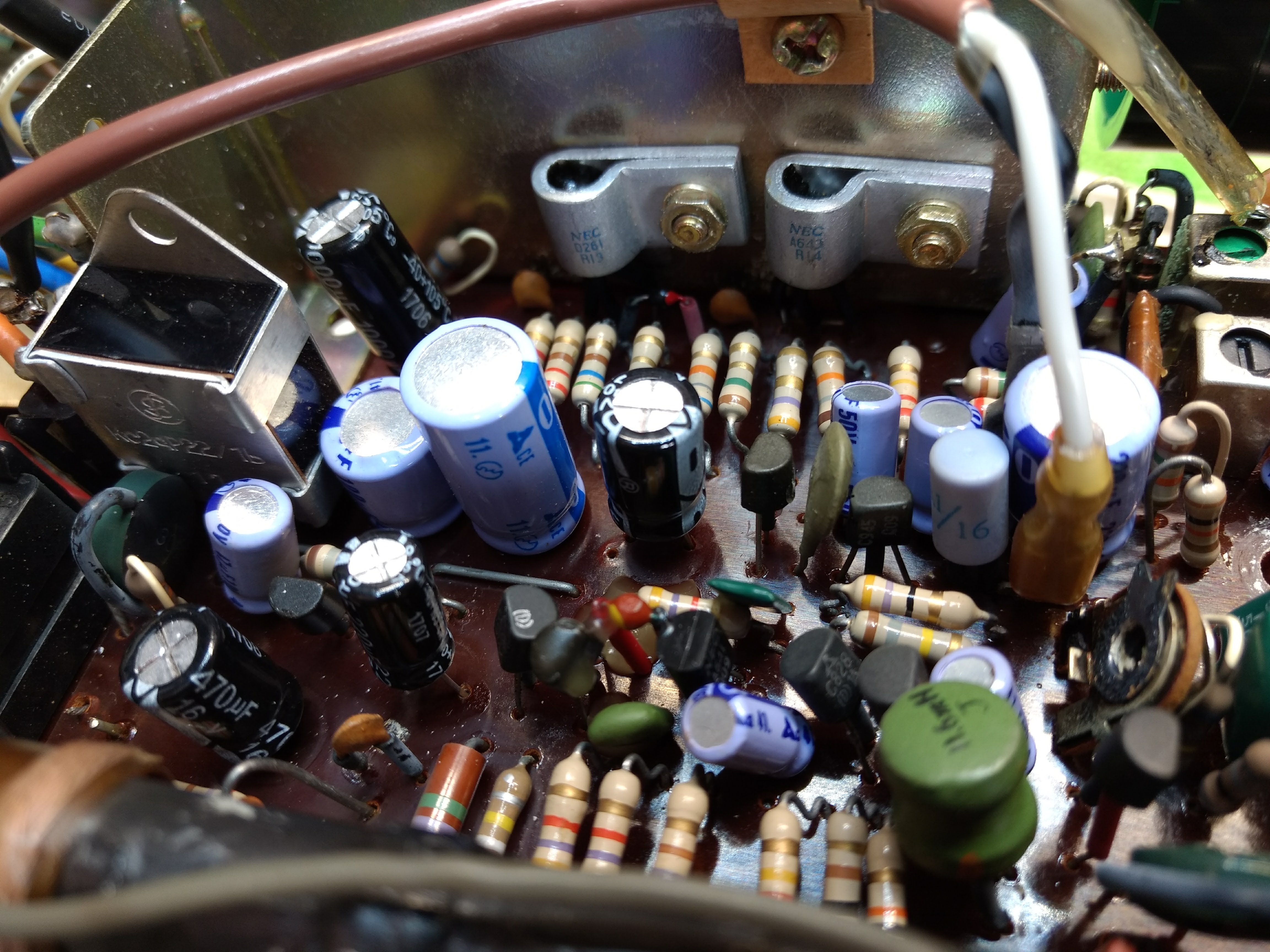 Capacitor replacement