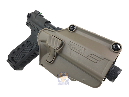 Amomax PRE FIT Holster Tan Right (1911, M9, Glock, AAP01...etc)