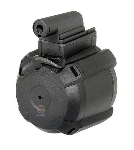 FCW M870 Electronic 1200rds Magazine Drum For Marui System Gas / Air Cocking