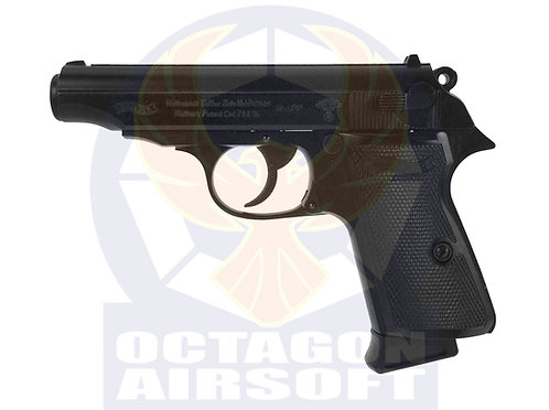 Flintlock Custom Workshop Walther PP Nazx Custom GBB Pistol BK (Metal Sl