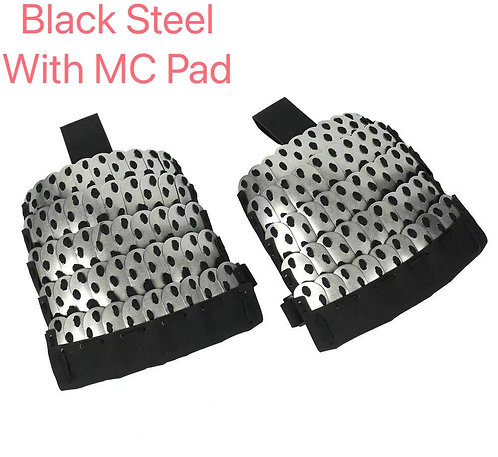 FCW Samurai  Style Shoulder Pad Set (BK Steel Armor Scales With MC Pad)