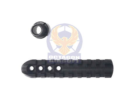 FCW Upper Rail & Silencer Adapter For Umarex / FCW R8 CO2 Revolvers
