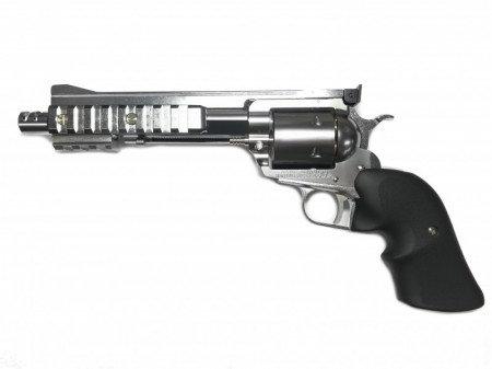Marushin Tactical Hawk Gas Revolver Silver ABS Version