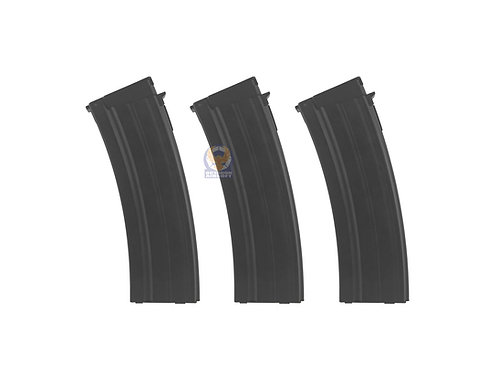 King Arms Galil Series (ARM, SAR, MAR) AEG KA-MAG-34 130rds Magazine x 3pcs Set