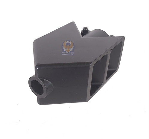 FCW M82 Tank Style ABS Flash Hider BK with CCW14 Adapter