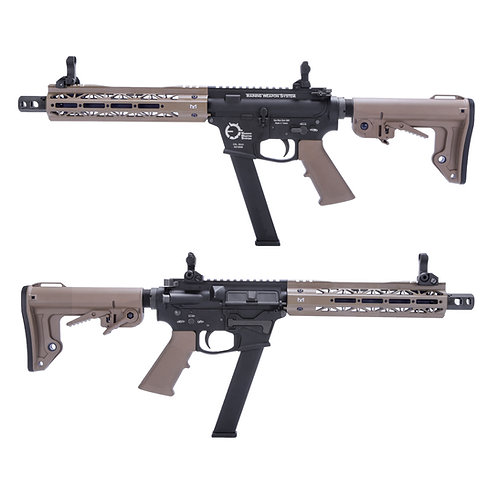 King Arms TWS 10 inches M Lok 9mm Carbine GBBR DE