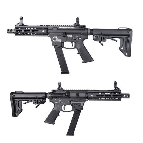 King Arms TWS 6 inches M Lok 9mm Carbine GBBR BK JAPAN GAS SET UP CUSTOM