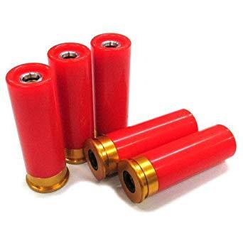 S&T M1887 Gas Shotgun 6MM BB 5pcs Shot Shell Pack RED (Fit Many Make