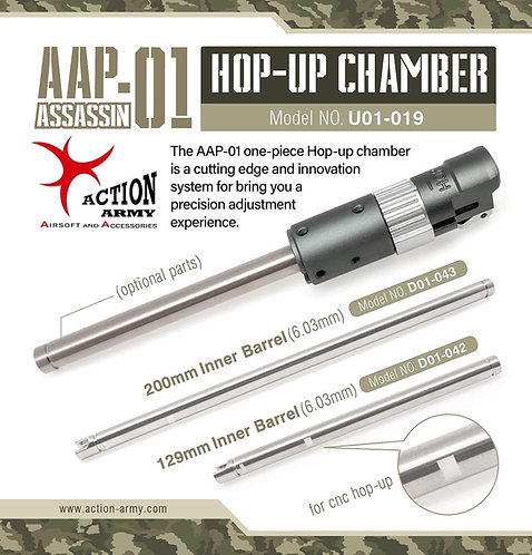 Action Army AAP01 CNC Hop Up Chamber U01-019
