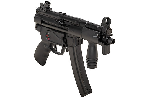 SRC MP5K CO2 SMG Rifle (Black, Steel Receiver) COB-421TM Japanese Version