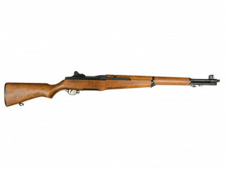 Marushin M1 Garand (6mm) Japanese Beech NUNA Real Wood  (Yellow Brown)