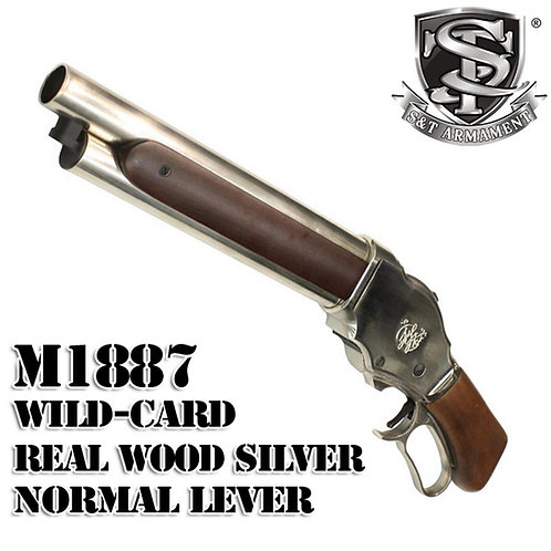 S&T M1887 Wild Card Shell Ejecting Gas Shotgun Real Wood Shorty SV