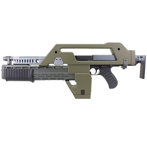 Snow Wolf M41A Pulse Rifle AEG Alien Rifle Olive Drab