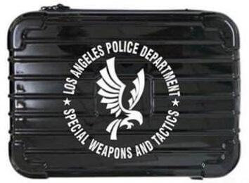 Flintlock Custom Workshop LAPD SWAT Logo Pistol Case
