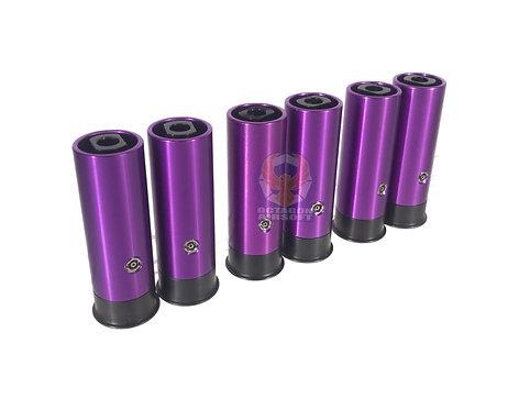 PPS Metal (6pcs) Gas Shells For Tanaka / PPS Gas Shotguns / FCW Striker 12