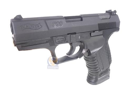 FCW P99 GBB Pistol with ABS Lower Custom Black