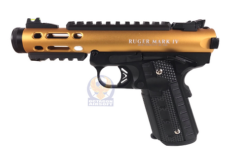 FCW Ruger Style GBBP Nylon ABS Lower Japan Gas Version GD/BK/BK