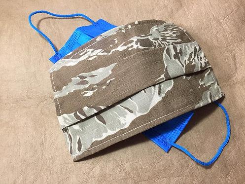 WTF Desert Tiger Strip Mask Cover