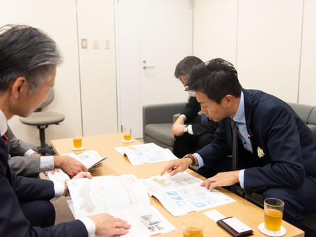 災害対策について東京都庁と意見交換