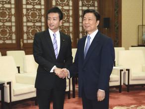 議員外交(中国出張)