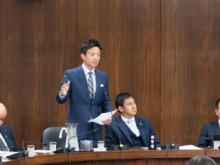 衆議院外務委員会での質疑