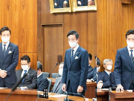 衆参両院で外務大臣政務官として発言