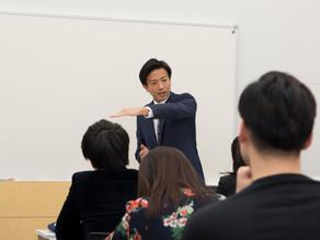 日本の未来について講演