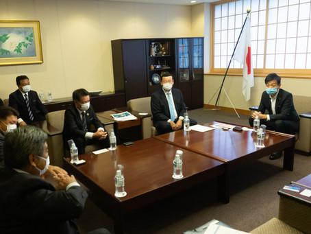 沖縄県金武町長、恩納村長、町村議会議員との意見交換