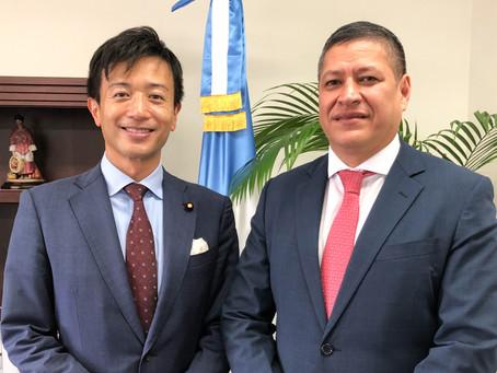 グアテマラ大使との意見交換