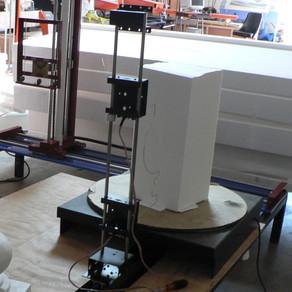 EPS Foam Base and Cap Cutter