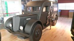 Museum Car Replica Exhibit